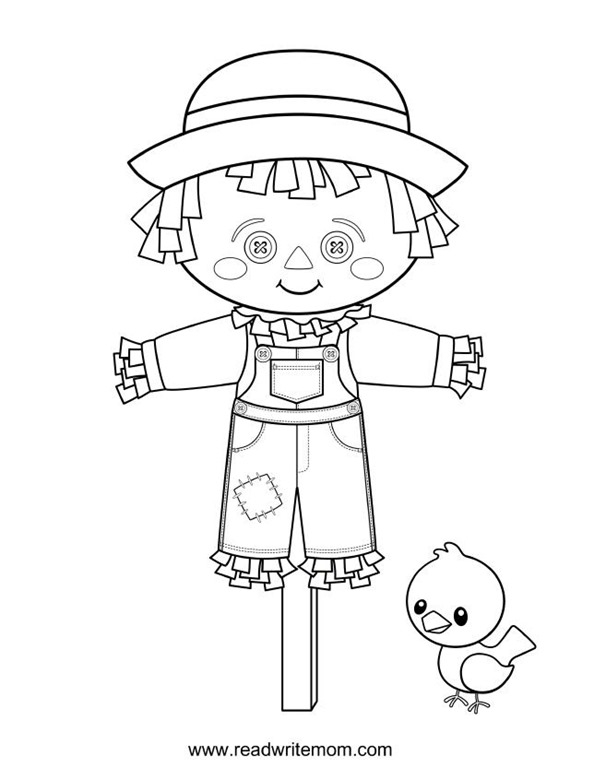 Scarecrow Print Out