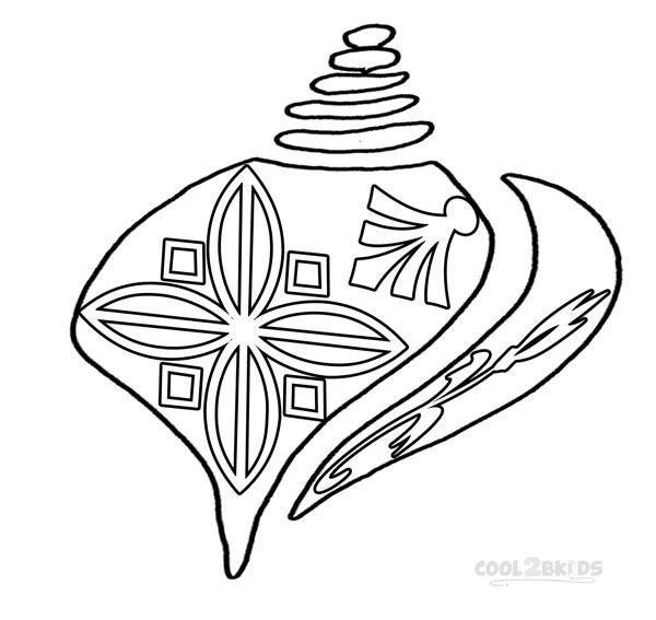 Seashell Coloring