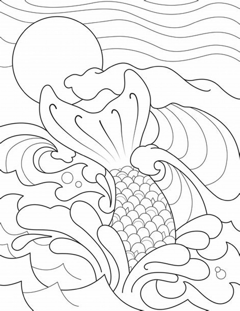 Tails Coloring Page