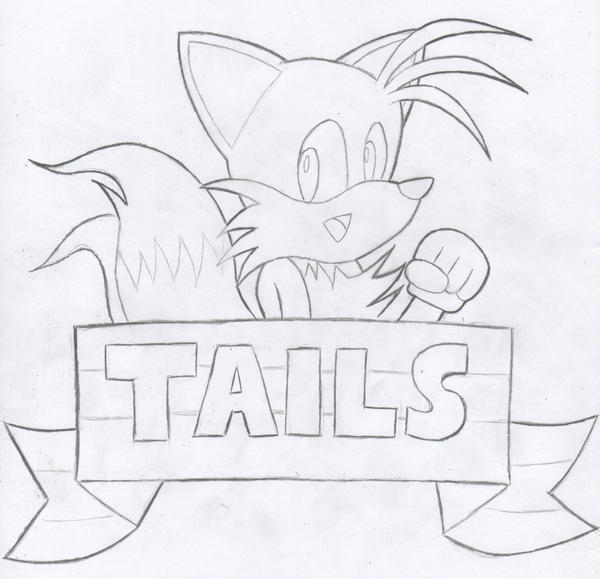 Tails Exe Coloring Pages