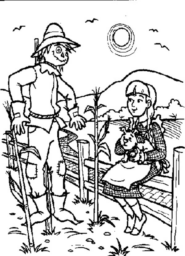 The Wizard Of Oz Coloring