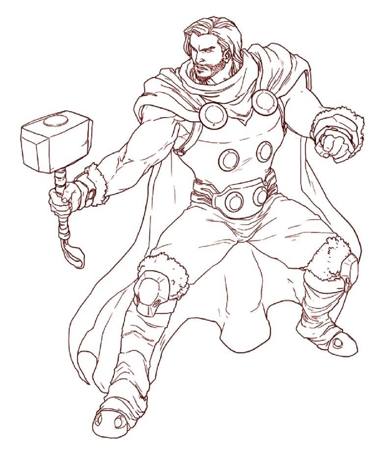 Thor Printable