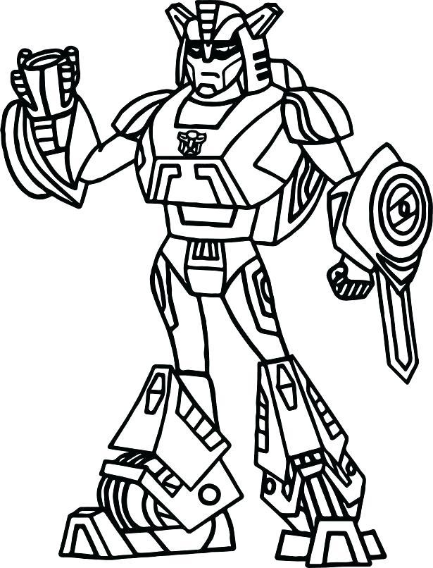 Transformers Coloring Pics