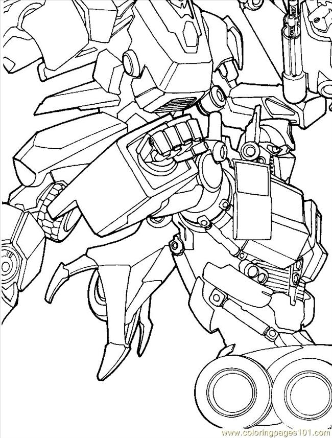 Transfromers Coloring Pages
