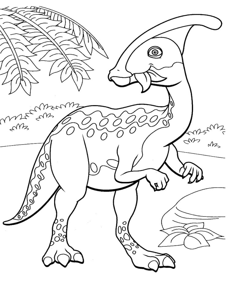 Triceratops Pictures To Color
