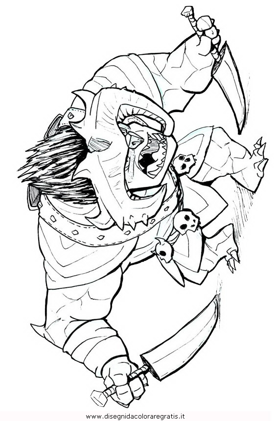 Troll Hunters Coloring Pages