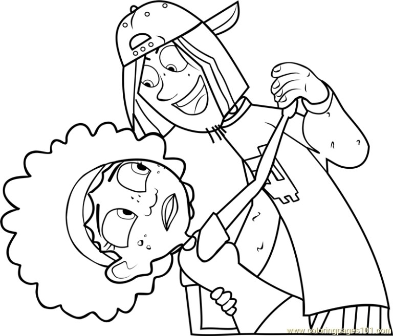 Wild Kratts Coloring Pictures