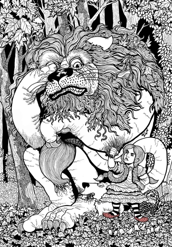Wizard Of Oz Coloring Pictures