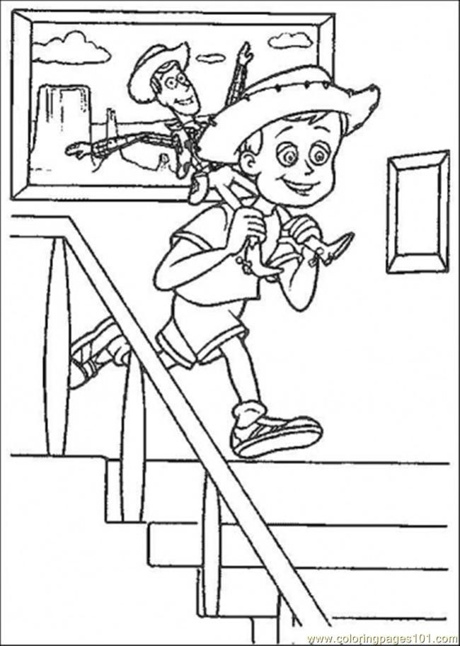 Woody And Bullseye Coloring Pages