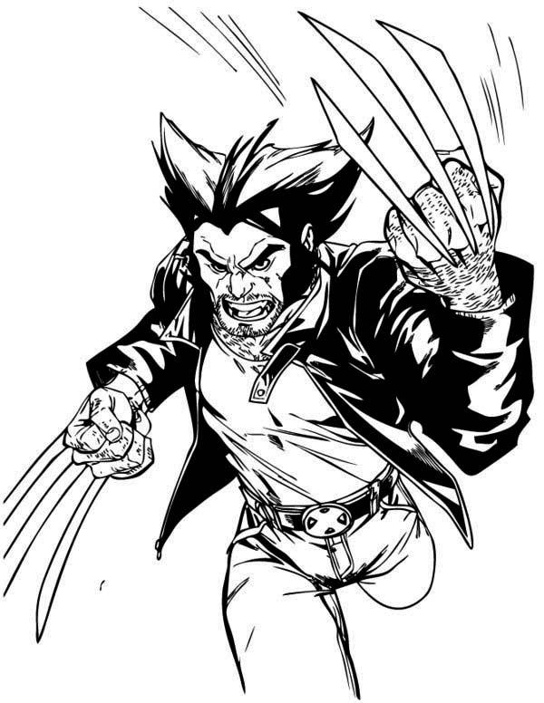 X Men Storm Coloring Pages