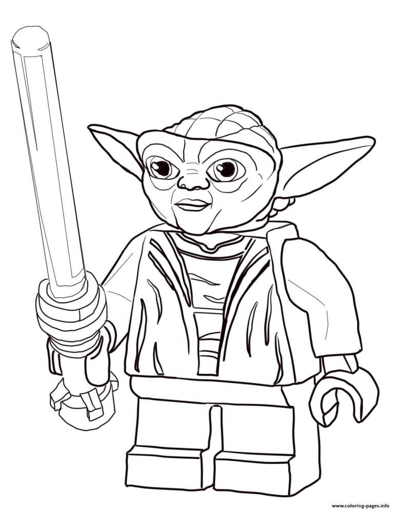Yoda Coloring