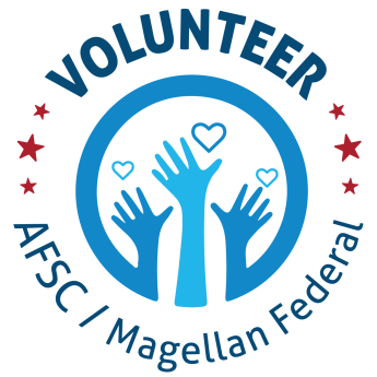 AFSC/Magellan Volunteer Logo Design