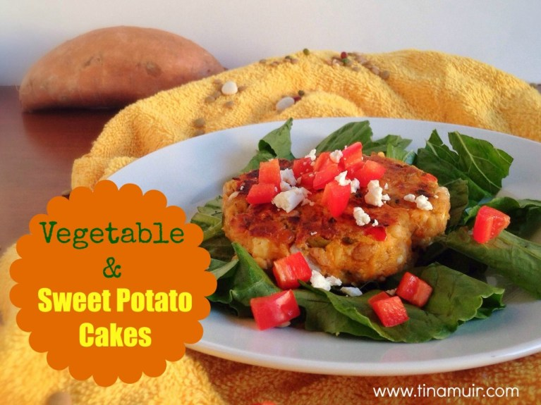Try these Vegetable and Sweet Potato Cakes for @MeatlessMonday! Delicious, and packed with nutritional ingredients to help your body recover from training.