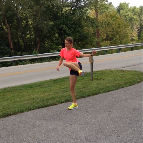Elite Athlete Tina Muir shares her Secrets to Success: Active Warm Up. These video demonstrations are really easy to follow, and help you feel much better on your runs!