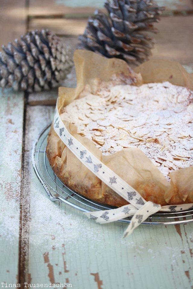 Mandel Ricotta Kuchen Tinastausendschon