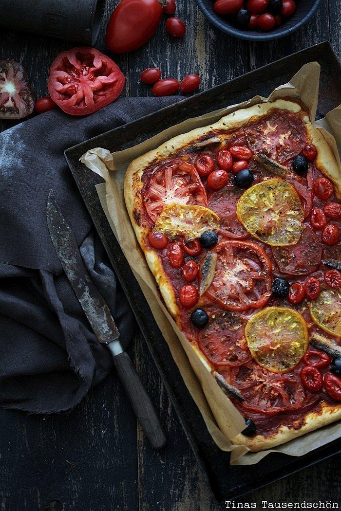 Tomaten Pissaladière