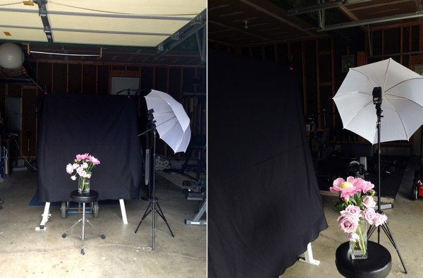 Off Camera Flash Tests   Simple Homemade Studio