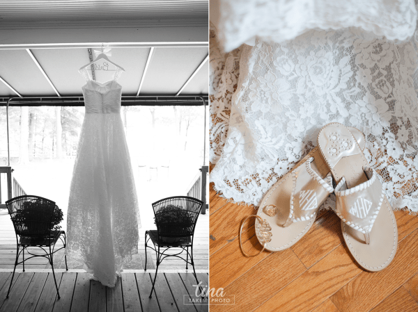 details-dress-lace-sandals-monogram-jewelry-Richmond-virginia-wedding-photographer-tina-take-my-photo-fall-celebrations-reservoir-midlothian
