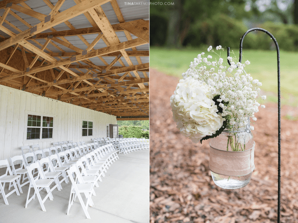 ridge-maryland-md-wedding-photographer-winery-slack-woodlawn-spring-cozy-cottage-romantic-rustic-waterfront-lake-barn-wooden-beams-ceremony-site-mason-white-flowers-hooks-aisle-trt_1010-14