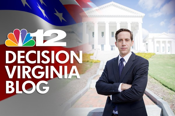 NBC12 Political Web Banner: Design and Photo