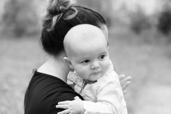 mom and baby Virginia photographer