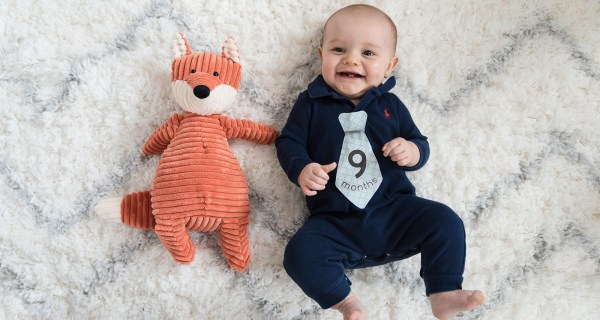 Harrison's 9 Month Photos! [RVA Family Photographer]