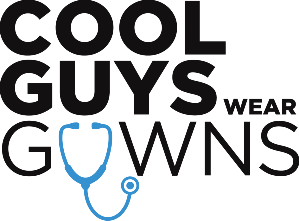 Cool Guys Wear Gowns Logo