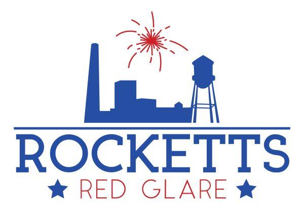 Rocketts Red Glare Fireworks Event Logo Design