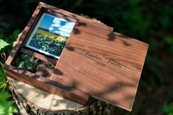 engraved usb print box mothers' day