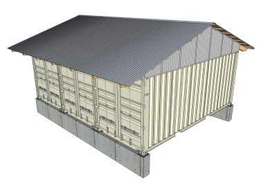 Turning A Shipping Sea Container Into A Cabin Or Home