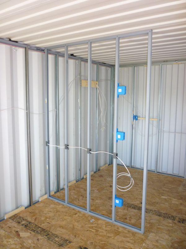 Metal Building Electrical Wiring