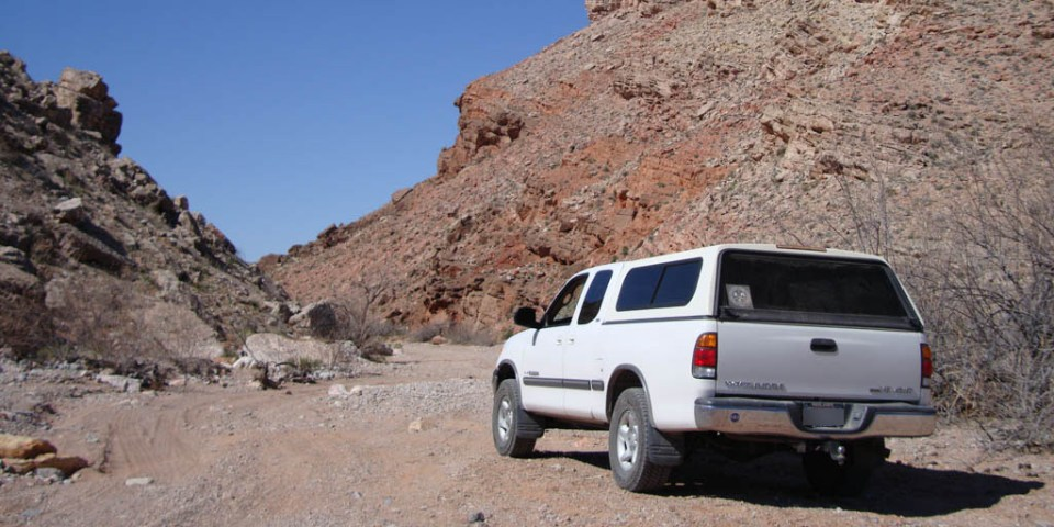 Our Toyota Tundra, Near Hobgoblin's Playground