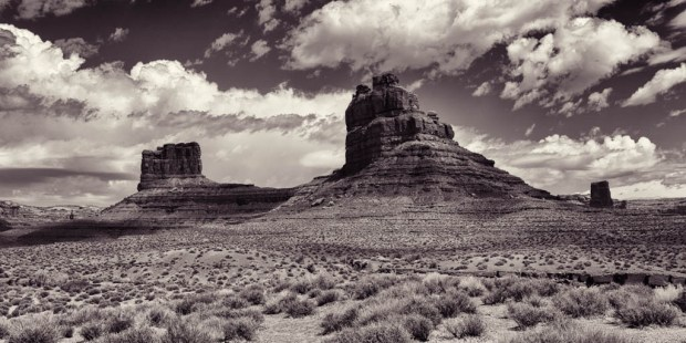 Two Buttes in the Valley of the Gods