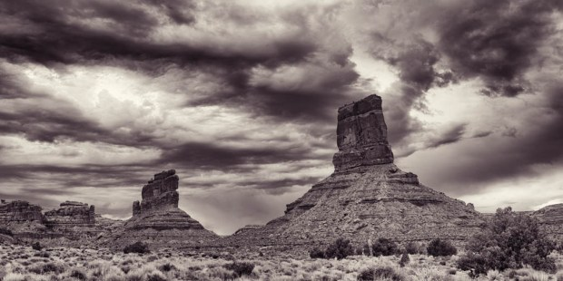 Buttes in the Valley of the Gods
