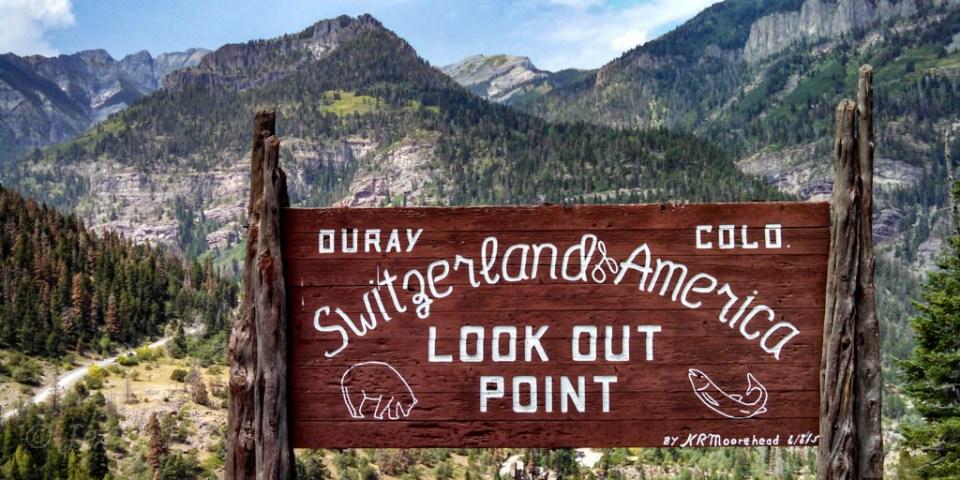 Switzerland of America - Ouray Overlook