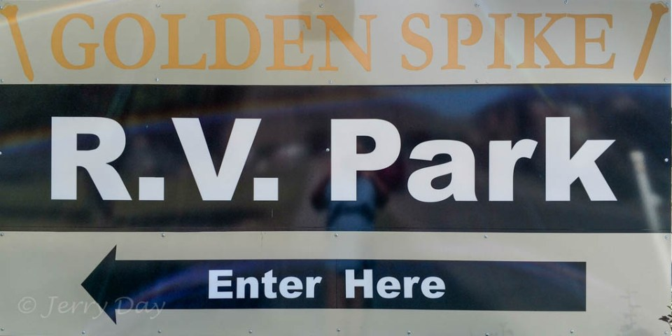 Golden Spike RV Park, Brigham City, Utah