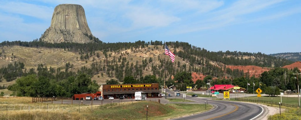 Devil's Tower KOA, Devil's Tower National Monument, Wyoming