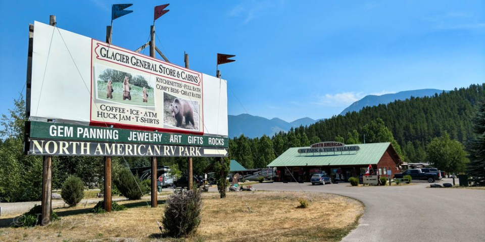 North American RV Park, Coram, Montana