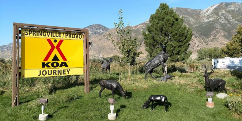Springville / Provo KOA Journey, Springville, Utah - 2017