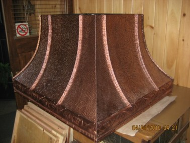 Antique Copper Hood Range #2