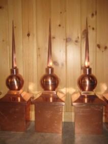Copper Finial #2