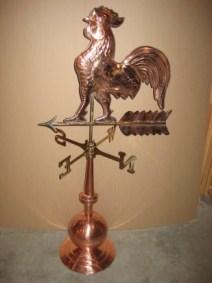 Copper Weather Vane