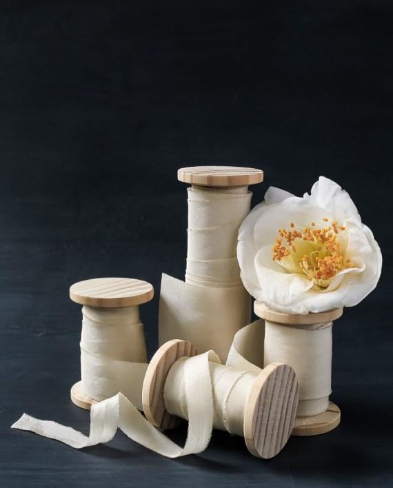 Ivory ribbon in 4 widths