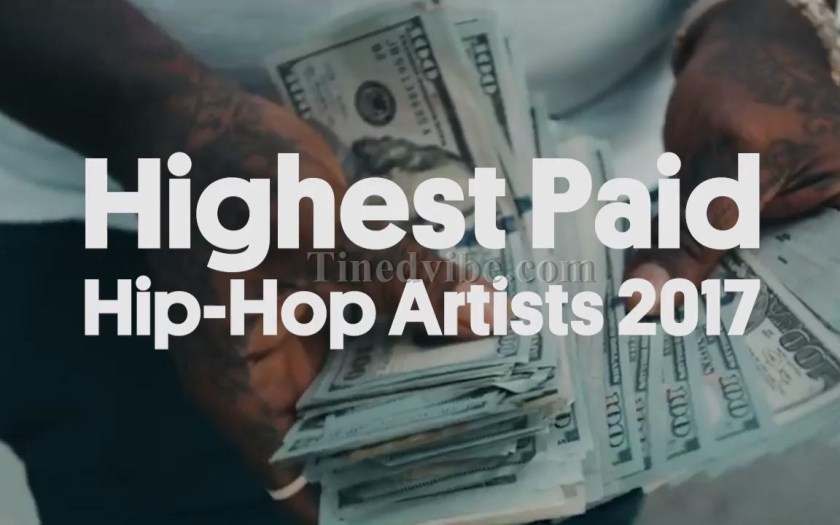 2017 Highest Paid Hip Hop Artists Finally Released by Forbes Magazine