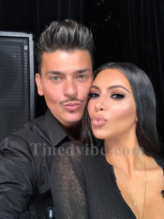Kim Kardashian Makeup Tutorial With Mario - Kim kardashian west