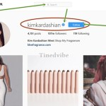 How Follow The Real KimKardashian on Instagram Account