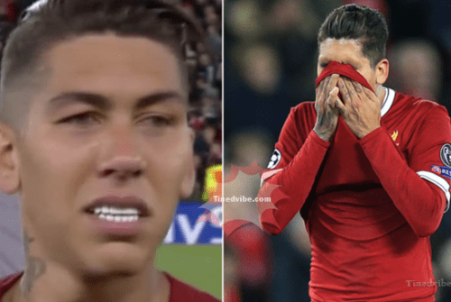 Roberto Firmino Reveals That Liverpool Fans Made Him Cry Last Night
