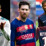 Top Ten Highest Paid Footballer Per Week & Top Paid Footballers Wages in the World