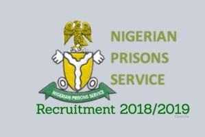 2018/2019 Nigerian Prisons Service Recruitment