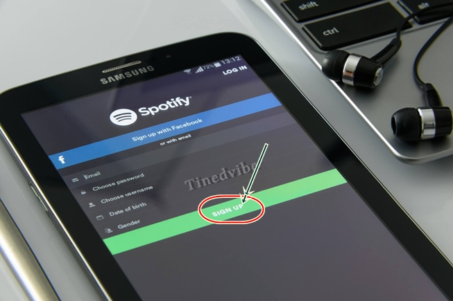 Download Spotify Music App - Spotify Registration Account